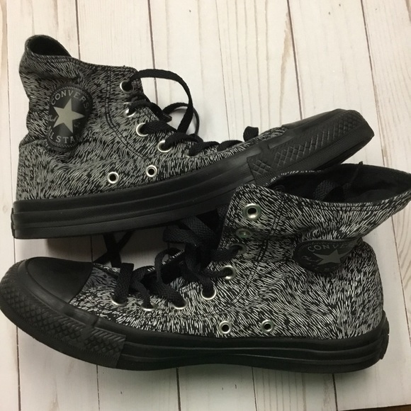 0568b9ce33f3 Converse Shoes - Converse Chuck Taylor Black Reflective Size 7.5